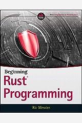 Beginning Rust Programming Kindle Edition
