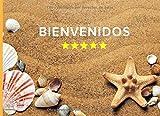 BIENVENIDOS: LIBRO DE REGISTRO DE HUÉSPEDES | INCLUYE FORMULARIOS CON TODOS LOS DATOS DEL VIAJERO EXIGIDOS POR LEY | PARTES DE VIAJEROS | AIRBNB, ALQUILER VACACIONAL.