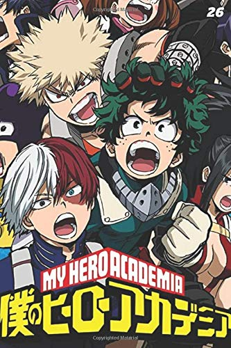 my hero academia vol 26: manga my hero academia 26 Notebook my hero academia vol. 1 to vol. 27 lined paper my hero academia volume 26