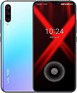 Mobile phone X, 48MP Camera, Global Dual 4G, 4GB+128GB, Triple Back Cameras, 4150mAh Battery, In-screen Fingerprint Identification, 6.35 inch Full Screen Android 9.0 MTK Helio P60 Octa Core up to 2.0G