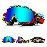 Zsling Gafas de esquí y snowboard 100% protección UV anti niebla gafas de nieve para hombres mujeres jóvenes