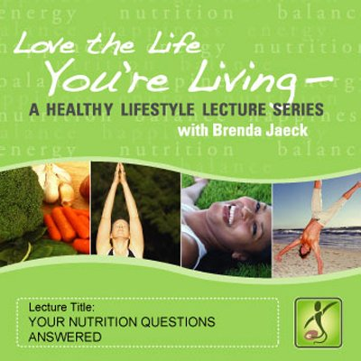 Your Nutrition Questions Answered audiobook cover art