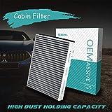 Accesorios para automóviles El filtro de aire acondicionado de cabina de polen incluye carbón activado CV6Z-19N619-A AV6N-19G244-AA para C-Max Escape Kuga Focus Transit MKC V40