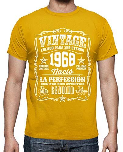 latostadora Camiseta Vintage 1968 la perfección - Camiseta Hombre clásica