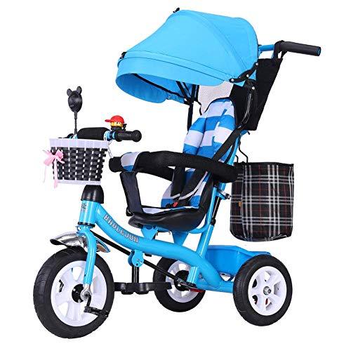 Buy Discount Zjnhl Children's Fun/Baby Carriage Stroller Tricycle First Bike 3 Wheel Bike 4 In1 WiRe...