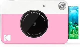 Kodak PRINTOMATIC Digital Instant Print Camera (Pink), Full Color Prints On Zink 2x3 Sticky-Backed Photo Paper - Print Mem...