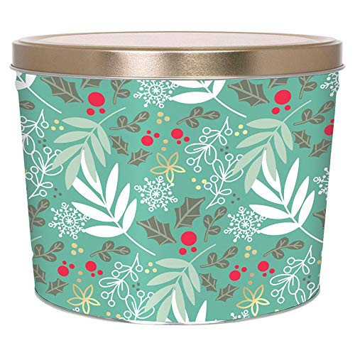 Sale!! C.R. Frank Popcorn - Gourmet Popcorn Tin, 2 Gallon, Winter Charm (All Caramel)