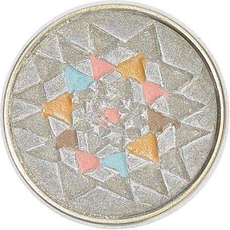 Noosa Chunk Yantra Grey/pink-Stone