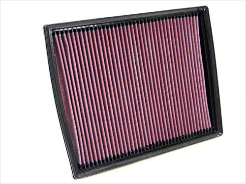 K&N 33-2787 Motorluftfilter: Hochleistung, Prämie, Abwaschbar, Ersatzfilter, Erhöhte Leistung, 1998-2013 (Zafira, Speedster, Astra MK5, VX220, Taxi TX4)