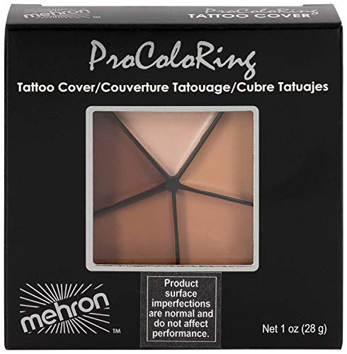 Mehron Makeup Tattoo Cover 5 Shades