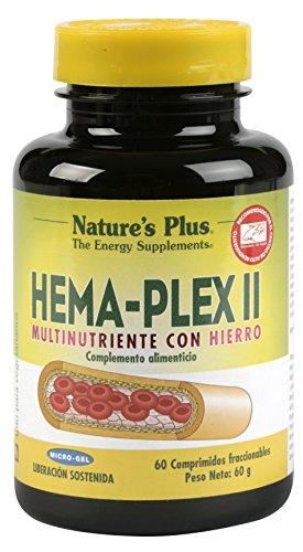 Nature's Plus Hema-Plex II - 60 Comprimidos