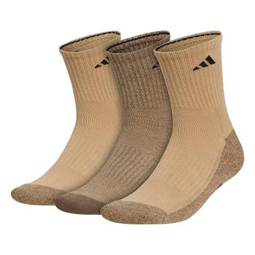 adidas mens Cushioned X 3 Mid-crew Socks (3-pair)
