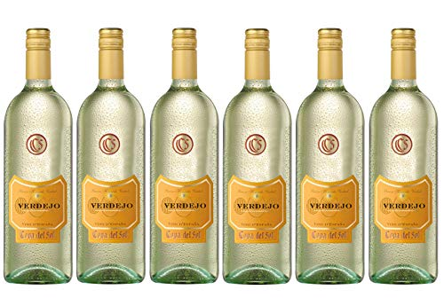 Copa del Sol Verdejo Chardonnay Weißwein Halbtrocken (6 x 1 l)