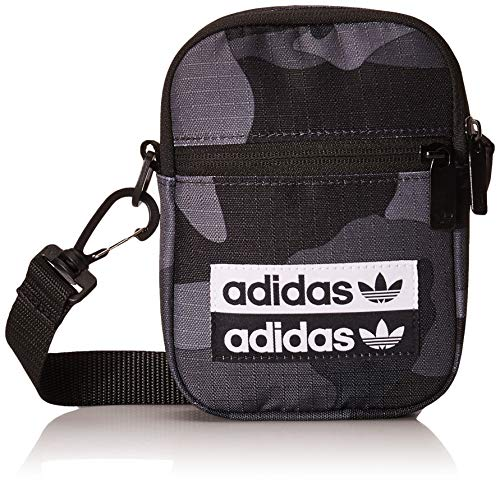 Adidas Camo Festival Bag EI8968; Unisex Sachet; EI8968; Grey; One Size EU (UK)
