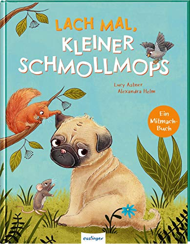 Lach mal, kleiner Schmollmops: Bilderbuch über Gefühle ab 3 Jahren