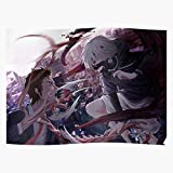 kineticards Infected Parasite Parasyte Anime Shinichi Cosplay Battle Migi | Home Decor Wall Art Print Poster