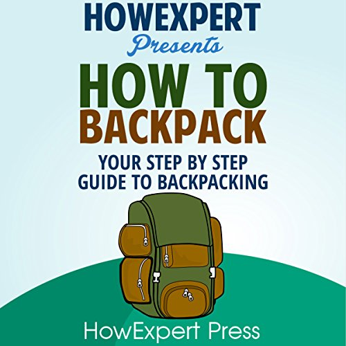 How to Backpack audiobook cover art