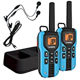 Uniden GMR4055-2CKHS 40-Mile GMRS/FRS Radio with 121 Privacy Codes (Blue)