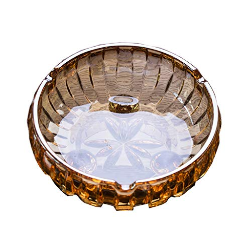 ZWS Cendriers Cigare Cendrier personnalit/é Creative Glass Mode Salon KTV Cristal Cendrier cubain Cigare Cendrier sp/écial Cendriers Exterieur de Table