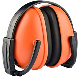 ZNFZEZ Soundproof Earmuffs Anti-noise Shooting Anti-noise Industrial Protective Earmuffs Learning Flight Travel Rest Comfo...