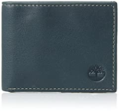 GENUINE LEATHER MENS WALLET: The Timberland Men's Slimfold Wallet is a thin-designed wallet made from 100% genuine leather. It's slim design lets it fit perfectly in jeans, dress slacks, and shorts. THREE POCKETS: Timberland products are known for th...