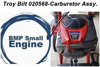 BMotorParts Carburetor Carb Assy. for Troy Bilt 020568 2800 PSI 2.3GPM Pressure Waher