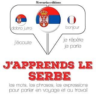 Couverture de J'apprends le serbe
