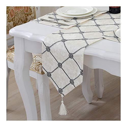 Decoración hogareña Camino de mesa tridimensional Flower Plate bandera de mesa que se reúne la flor simple Mesa Cuadrada Mat mesa moderna mesa de café de la bandera de TV Gabinete cubierta de toallas