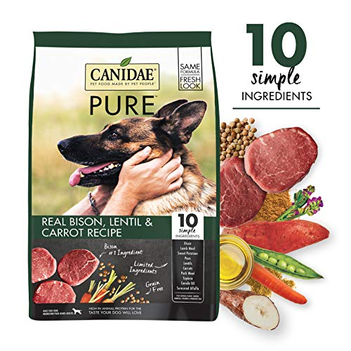 CANIDAE PURE Real Bison, Limited Ingredient,...