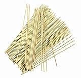 Vita Perfeta - Lote de 100 pinchos de bambú para barbacoa, brochetas de Kebab, folletos de carne (30 cm)
