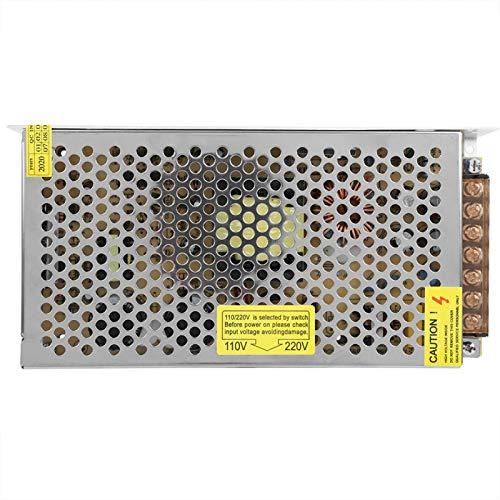 Transformador de fuente de alimentación, 110 / 220V DC 12V 500W AC Fuente de(12V12.5A (150W))