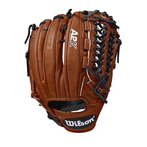 """Wilson A2K D33 11.75"""" Pitcher's Baseball Glove - Right Hand Throw"""