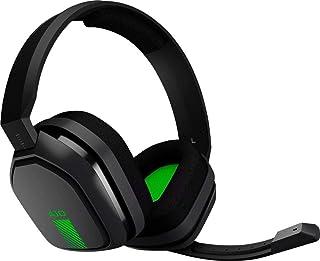 Auriculares ASTRO Gaming A10 para Xbox One, Nintendo Switch, PS4, PC y Mac, con cable de 3,5 mm y micrófono Boom de Logitech – Embalaje ecológico – (verde/negro)