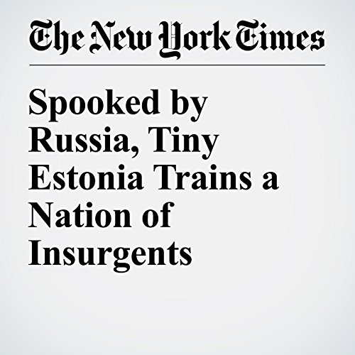 Spooked by Russia, Tiny Estonia Trains a Nation of Insurgents cover art