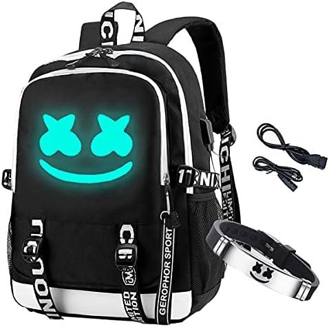 Gengar glow in the dark backpack