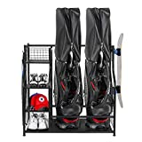 PLKOW Golf Bag Storage Garage Organizer, Fit for 2...