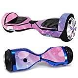 MightySkins Glossy Glitter Skin for Ultra Hoverboard - Pink Diamond | Protective, Durable High-Gloss Glitter Finish | Easy to Apply,...