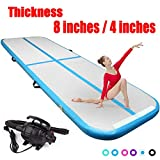 9.84ft Air Track Tumbling mat 4in Thickness Inflatable Gymnastics airtrack with Electric Air