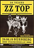 ZZ Top - 50 Years with, Nürnberg 2019 »