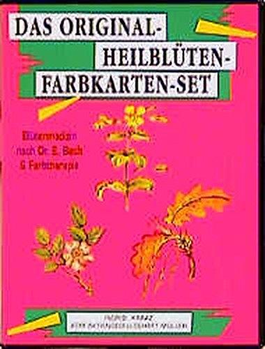 Das Original Heilblüten - Farbkarten-Set: 77 farbige Karten und Anleitungsbuch. Blütenmedizin nach Dr. E. Bach und Farbtherapie
