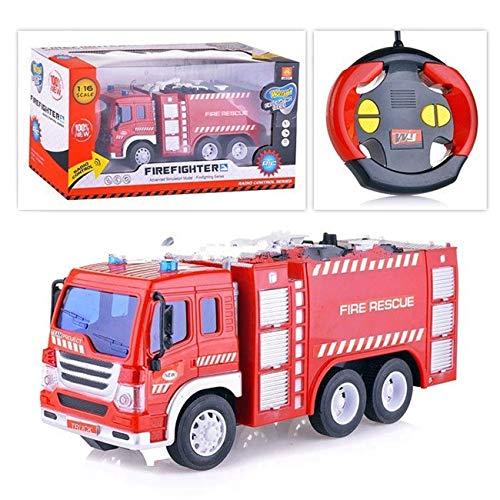 RC Auto kaufen Feuerwehr Bild: Spiel AG Feuerwehrauto R/C ferngesteuert Fire Truck 1:16 mit Licht*