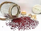 versandhop Konfetti-Herz Rot 0,3cm 3mm klein Nageldesign Handwerk Basteln Tisch-Dekorieren Streu...