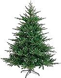Árbol de Navidad Artificial Árbol de Navidad de Bricolaje Soporte de Metal de Abeto Realista Árbol de Navidad Artificial Árbol de decoración Festiva (Color: Verde; Tamaño: 4 pies (1,2 m)) (Verde 6 p