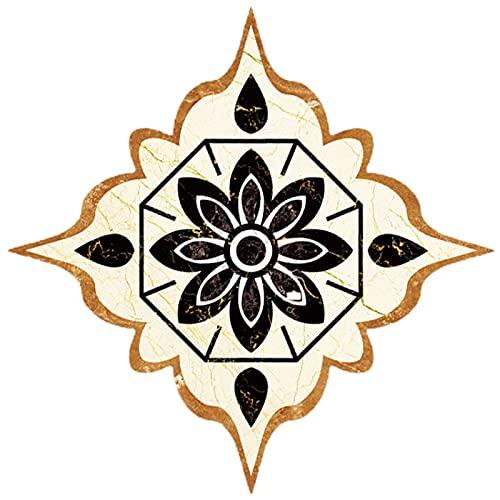 cuiyoush Pegatinas decorativas autoadhesivas para azulejos, despegar y pegar desmontables, pegatinas de pared para baño, cocina, escaleras, decoración 5