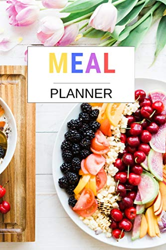 Meal Planner: Meal planner pad with shopping list | Meal planner recipe book | Meal planner recipe notebook