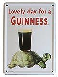 "Guinness Tortoise Mini Metal Sign 4.5"" x 3"" (hi)"