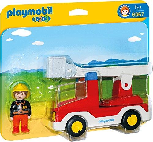 Playmobil 1.2.3: Camión de Bombero  6967