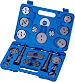 KATSU Kit de herramientas 21 piezas de reparación de frenos reposicionador de pistones de...