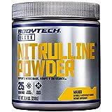 BodyTech Nitrulline Nitric Oxide Potentiator, Pumps Endurance to Help Energize Nourish Working Muscles, Mango (8.4 Ounce Powder)