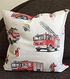 Kinderkissen/Dekokissen Feuerwehr, Geschenke für Jungen, Geschenkidee
